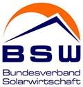 Mitglied des BSW – Bundesverband der Solarwirtschaft e. V. , Berlin