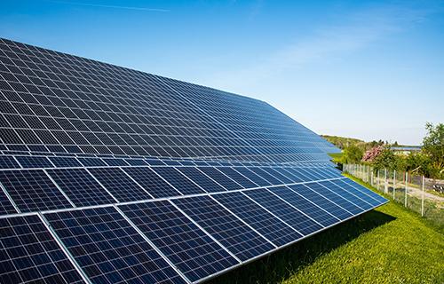 Strom durch Photovoltaik