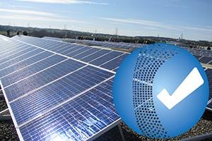 Prüfung der Photovoltaik-Anlagen