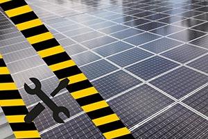 Reparatur und Wartung von Photovoltaik-Anlagen, auch bei Fremdanlagen